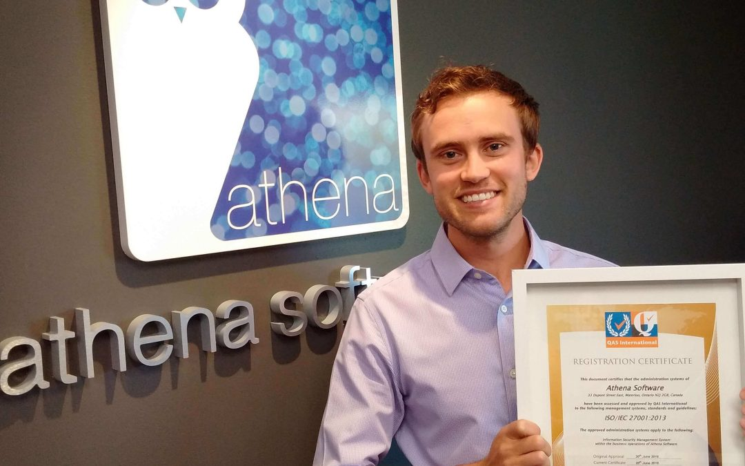 Athena Software Extends ISO/IEC 27001 Certification